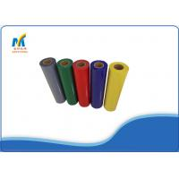 Cheap Textiles PVC Heat Transfer Vinyl Rolls 150 - 180 Degree With Cold Peeling for sale