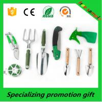 Cheap Plastic / Steel 9pcs Handle Garden Tool Sets With Fork / Pruning Tools for sale