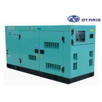 Cheap 30kVA 1500rpm Cummins Diesel Generator with AMF / ATS Panel , AC Output for sale