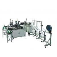 Cheap Semi Auto  Mask Making Equipment , Non Woven Mask Making Machine ISO CE for sale
