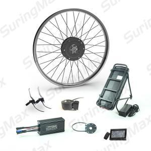 Cheap 48v 350w Brushless Gear Motor , Electric Motor Kit For Mountain Bike for sale
