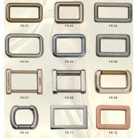 Cheap Quadrate Buckle Parts & Accesories in Zinc Alloy Die Casting Mould Moulding for sale