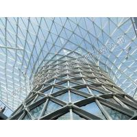 Cheap Metal Building Curved Steel Roof Trusses High Anti Rust Performance wholesale