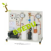 Cheap Educational Equipment Trainer Simple Compression Refrigeration Circuit for sale