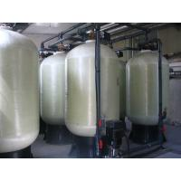 Cheap PLC Control Boiler Water Treatment System Soft Water Ion Exchange High Efficiency for sale