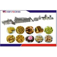Buy cheap Puff Corn Rice Core Filling Snack Machine Snack Food Extruder from wholesalers