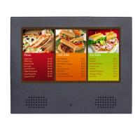 Cheap OEM High Resolution LCD Digital Photo Frame With Speaker In Front for sale