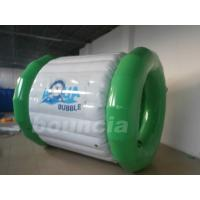 Buy cheap 2.5m Inflatable Water Roller 0.9mm PVC Tarpaulin Fabric For Seashore from Wholesalers