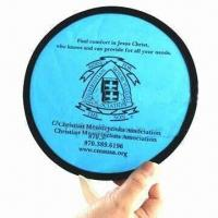 Cheap Pop-up Fan, Made of 190T Nylon and Steel Ring for sale