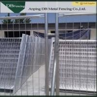 Cheap Construction Site Australian Temporary Fencing With Clips And Concrete Feet for sale