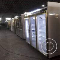 Cheap OP-A409 Factory Price OEM ODM Supermarket Glass Door Fridge with LED Light for sale