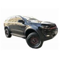 Cheap OEM 2016 2019 Ford Everest Slim Wheel Arch Flare Smooth Black for sale