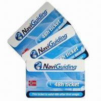 Cheap RFID Cards/Smart Cards, Used in Enterprises and Banks for sale