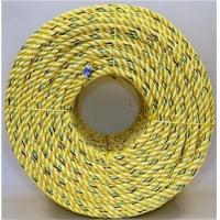 Buy cheap High Tenacity Dia 16mm x 220 mtrs Length3 Strand Yellow Polypropylene Rope With Good Price from wholesalers