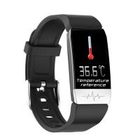 Cheap Android System Temperature Smart Watch 1.14 Inch IPS Color Screen TFT Dispaly for sale
