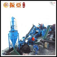 3 phases tire recycling equipment waste tire shredding for Tractor tire recycling