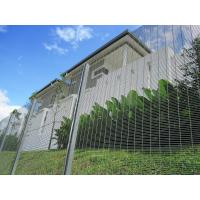 Cheap Polyester Powder Anti Climb Fence / Security Fence Max Perimeter Protection for sale