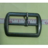 Cheap Hand made hanging Gunmetal 3.5cm alloy Cloth Belt Buckle / accessory for sale