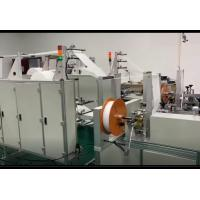 Cheap N95 KN95 Non Woven Face Mask Making Machine Semi Automatic Strong Fixation for sale