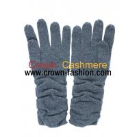 Cheap women cashmere gloves knitted mittens for sale