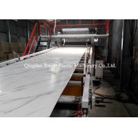 Cheap PVC Laminating Plastic Board Production Line 75kw Motor Power Environment Friendly for sale