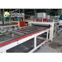 Cheap Nonwoven Fiber Glass Laminated Gypsum Ceiling Tiles Production Line for sale