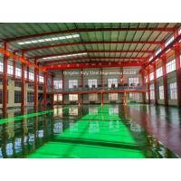 Cheap Pre Manufactured Structural Steel Portal Frames With Floor Coat SGS Certification for sale