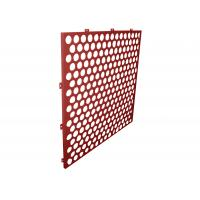 China 3mm Decorative Perforated Aluminum Sheet Architactural Panel for Facade on sale