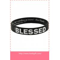 Cheap wholesale OEM design silicone wristband for sale