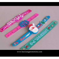Cheap Best quality best selling fashion design silicone slap wristband for kids' toys for sale