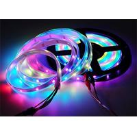Cheap 5m Cuttable LED Strips Magic Color 16.4ft 150 WS2812B White FPCB Non Waterproof for sale