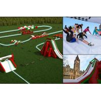 Cheap Customized Large Inflatable 5k Run / Inflatable Bouncy Obstacle Course For Summer Event CE Approval for sale