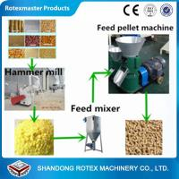 Cheap Small Scale Poultry Feed Small Pellet Mill Animal Feed Pellet Production Line for sale