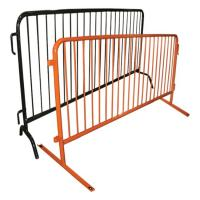 Cheap Easy Installation Metal Fence Accessories Temporary Construction Guardrails for sale
