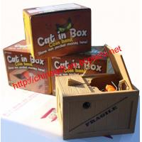China Cat in The Box Money Bank on sale