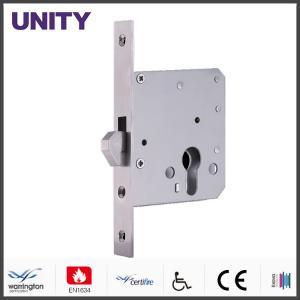 China Electromagnetic Door Lock , Bathroom Door Locks Unlocking By Euro Profile Cylinder on sale