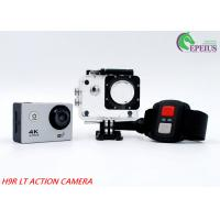Buy cheap 140D 2.0 Inch 1080p Waterproof Action Camera 4k Mini 900 MAh USB 2.0 With Accessoires from wholesalers