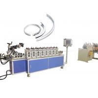 China Gearbox Driven Cold Rolling Forming Machine For Auto Stainless Steel V Band Clamps on sale