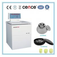 Cheap Large Capacity Refrigerated Refrigerated Centrifuge Machine 6000rpm Max Speed for sale