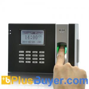 China Fingerprint Time Attendance Device + Door Lock (Black) on sale