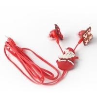 Cheap Selling pvc,silicone rubber material high quality mp3 ear earphone promotional gifts for sale