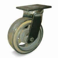 Cheap Extra Heavy Duty Caster with 4,000kg Loading Capacity, Measures 12 x 4 inches for sale