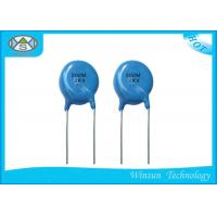 China Blue High Voltage Ceramic Disc Capacitors Compact Size 1PF ~ 0.22uF For TV Set on sale
