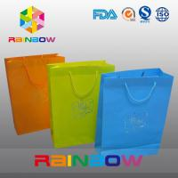 Cheap Promotion Cutom Color Printing Customized Paper Bags / Gift Bag grease proof paper bag for sale