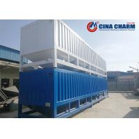 Cheap Portable 50T Horizontal Fly Ash Cement Storage Silo , Steel Cement Silo for sale