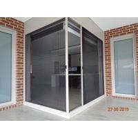 Cheap Alibaba top quality China supplier Plisse insect screen windows and doors for sale for sale