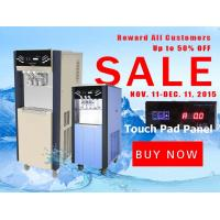 Buy cheap Touch Pad.Remote control Ice Cream Machine Frozen Yogurt machine adopted by from wholesalers