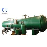 Cheap Semi Automatic Wood Heat Treatment Equipment Wooden Pole Treatment Plant for sale