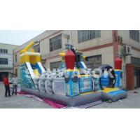 Cheap Digital Printed Robot Inflatable Fun City / Giant Inflatable Toy For Promotion for sale