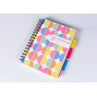 Cheap Colorful Plastic Hard Cover Notebook / Notepad Custom Logo For Business Gift for sale